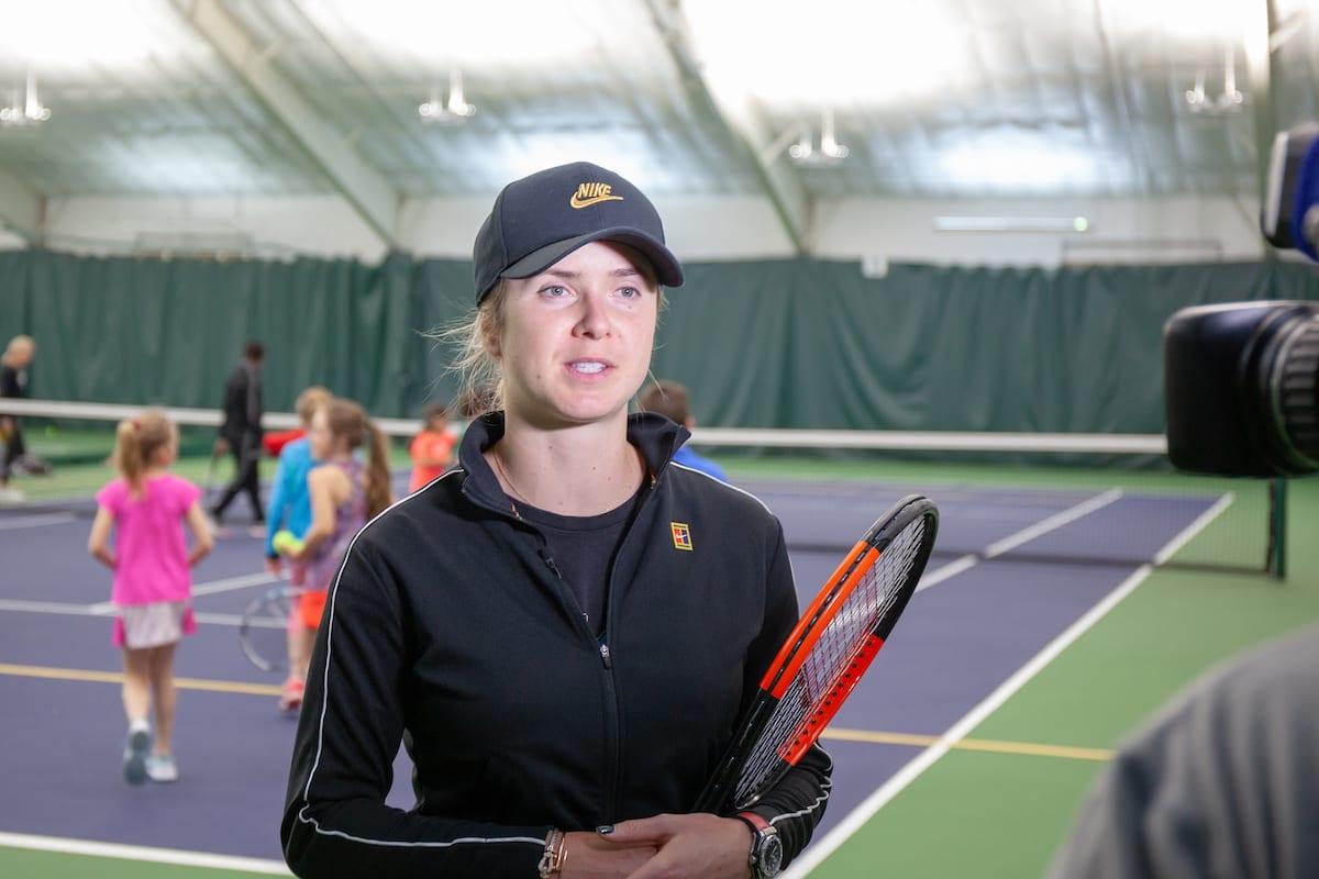 """Элина Свитолина: """"Буду стараться принимать участие в наших спортивных лагерях, чтобы придать детям мотивацию тренироваться"""""""